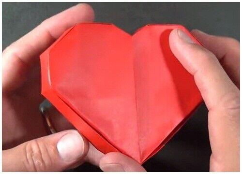 Paper Box Packaging Heart shape