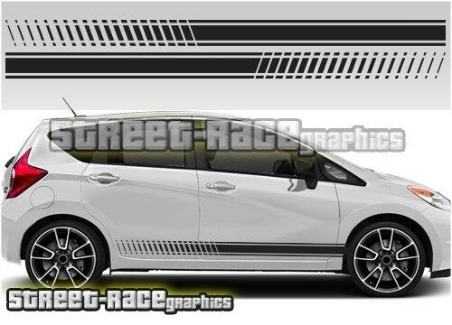 Toyota Aygo 006 side racing stripes graphics stickers decals vinyl