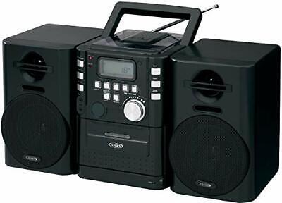 JENSEN CD-725 Portable CD Music System with Cassette & FM St
