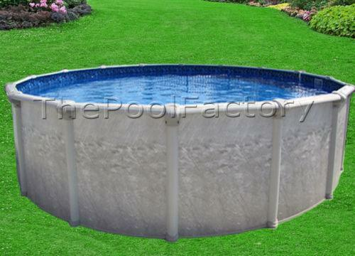 Above ground swimming pool package ebay for Best looking above ground pools