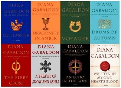 8 AUDIOBOOKS - Diana Gabaldon - The Outlander Series Complete Set Unabridged