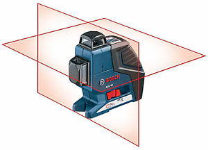 Bosch 360° Dual-Plane Leveling and Alignment-Line Laser New