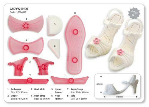 Shoe cutter cake decorating ebay for Ebay store template tutorial