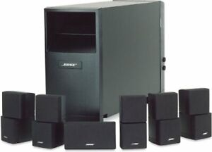 Bose speakers with stands...