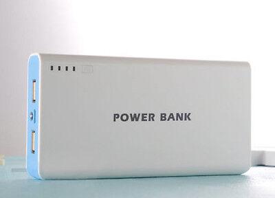 50000mah External Power Bank Backup Dual USB Battery Charger