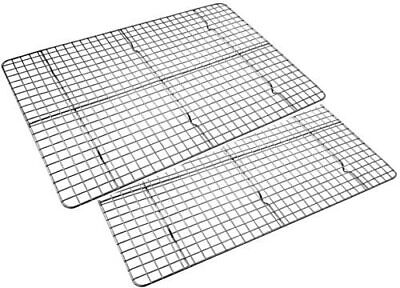 Checkered Chef Cooling Racks for Baking - Baking Rack Twin Set