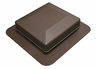 Duraflo 6050BR Roof Vent, 50 Square Inch, Brown
