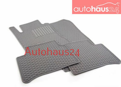 MERCEDES-BENZ W211 E-CLASS ALL SEASON RUBBER FLOOR MAT SET NEW 2003-2009 GRAY, used for sale  Shipping to Canada