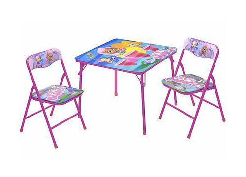 Bright And Vibrant Is The Name Of The Game With This Charming Nuova Bubble  Guppies Table And Chair Set. Bright, Wide Eyed Cartoon Characters Provide  Big ...