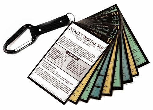CHEAT SHEET Quick Cards Guide NIKON DSLR D5 D4S D4s D3s Df D7500 D5600 Z7 Z6 &+