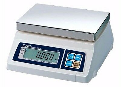 Cas Sw-1-10 Portable Digital Scale 10 Lb X 0.002 Lb Legal For Trade