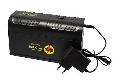 4x Elektrische Elektronische Ratten Mause Falle Rattenfalle Mausefalle