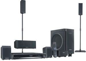 Premium Sound 1000W DVD Home Theater System Wireless