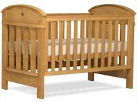 Boori Madison Cotbed Heritage Teak Oak, inc mattress in Excellent Condition!