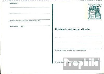 Berlijn (West) P107 Officiële Postcard ongebruikte 1977 Kastelen u. Sloten