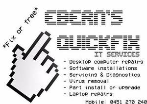 Ebern's Quickfix Mobile IT Services Browns Plains Logan Area Preview
