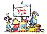 Community Yard Sale - Piper Street - Dartmouth