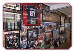 Sports Framed Jerseys Memorabilia