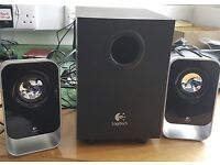 Logitech Computer Speakers and Sub-Woofer