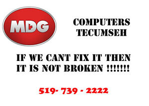 MDG COMPUTERS TECUMSEH - WE FIX ALL PC and MAC computers