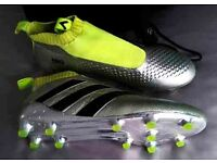 Adidas ACE 16+PURE CONTROL FG football boots size nine and a half