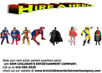 ULTIMATE ACTION PACKED SUPERHERO PARTIES