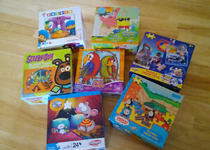 Assorted kids puzzles (3+) GREAT condition!!
