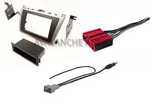 din mazda 6 2009 2013 car stereo radio dash install kit w wiring harness