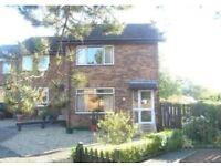 2 Bedroom end terrace house Gavin Hamilton Court, to rent £535 pcm DG & GCH