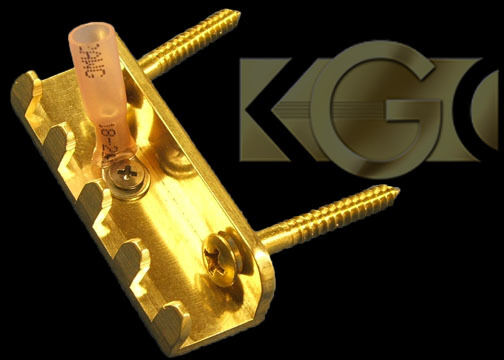 The Original Killer Brass Claw -MILLED Tremolo Spring Claw - Strat, Ibanez Floyd
