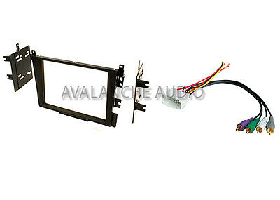 - Acura TL CL Double DIN Car Stereo Radio Dash Installation Kit W/ Wire Harness