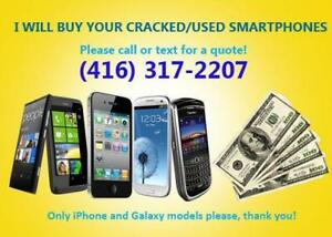 Used or Broken Iphones for CASH!