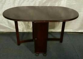 Mountrose oval butterfly table - mahogany
