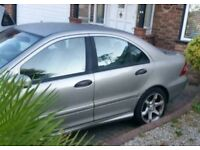Mercedes C Cllas 200 Cdi AUTOMATIC DIESEL 3 owner only 97000