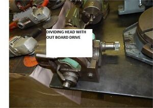 DIVIDING HEAD WITH POWER TAKE OFF SHAFT FOR MILLING MACHINE