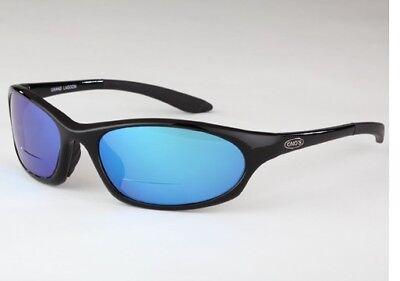 311289f1aab Onos Grand Lagoon 114BG225 BLUE MIRROR Polarized +2.25 Bifocal Sunglasses