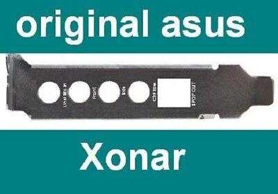 Asus Xonar DG DGX LP Slotblech Front Mic Back SPDIF Line Slotblende...