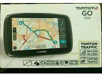 Tomtom go 5100 sat nav brand new unused