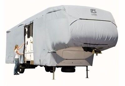 PermaPRO 5th Wheel RV Cover XTALL Fits 41 '- 44' FT & 140'' Max.Height - Grey