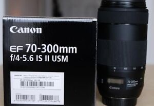 Canon 70-300mm F/4-5.6 IS II USM
