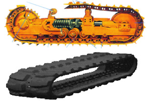 NEW RUBBER TRACKS AND STEEL TRACK UNDERCARRIAGE CALL 5063572760