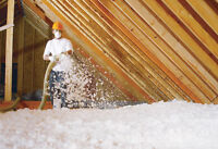 Attic insulation and Home Insulation.