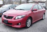 2010 ONE OWNER Toyota Corolla S