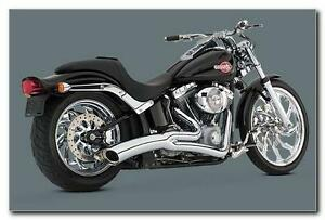 Vance and Hines exhaust True Duals, Mufflers New in Box, Touring Stratford Kitchener Area image 7