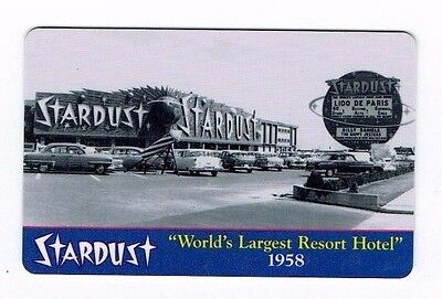 STARDUST Las Vegas Casino Room KEY - WORLD'S LARGEST RESORT HOTEL 1958 ~
