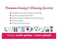Premium Ironing and Cleaning service