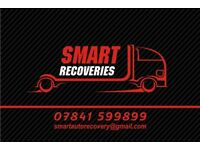 SMART AUTO RECOVERIES 24/7 Service Prices starts from £24.99