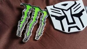 MONSTER ENERGY AND TRANSFORMERS BELT BUCKLES