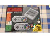 BRAND NEW super nintendo snes classic console