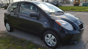 2007 Toyota Yaris Hatchback 5 Speed Manual